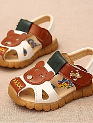Boys' Shoes Casual Tulle Sandals Summer Comfort / Open Toe Others Blue / Brown