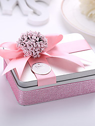 10 Piece/Set Favor Holder-Cuboid Metal Wedding Favor Boxes Candy Gift Boxes
