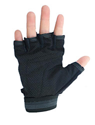 Boys And Girls Half-Finger Gloves Riding Gloves Outdoor Sun Protection Skid Sports And Fitness