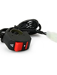 Motorcycle ATV Bike Handlebar Accident Hazard Light ON OFF Kill Switch Button