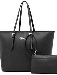 Stiya Fashion Large Capacity Multifunction Genuine Leather Multifunction with Small Packet Lady Shoulder Bag