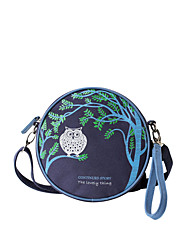 Flower Princess® Women Canvas Shoulder Bag Blue-1511DSX002