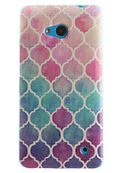 Grid Pattern TPU+IMD Soft Case for Multiple Nokia Lumia 640/N535/N630/N530