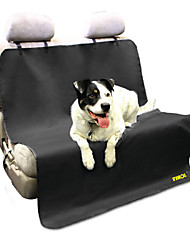 Encell Black Waterproof Pet Back Car Seat Cover Universal Fit