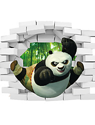 Cartoon 3D Wall Stickers Fashion Living Room Kids Bedroom Wall Decals