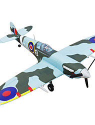 Dynam Spitfire 1:8 Brushless Electric 50KM/H RC Airplane 5ch 2.4G EPO Green RTF
