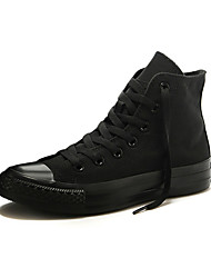 Converse Chuck Taylor All Star Core Men's Shoes High Canvas  Outdoor / Athletic / Casual Sneaker Flat Heel Black / Blue