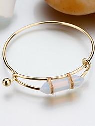 Pulseiras Bracelete Liga Others Fashion / Bohemia Estilo Diário / Casual Jóias Dom Ouro Rose,1pç