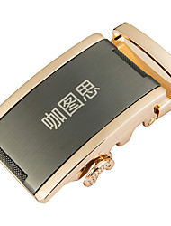 Katusi New Mens Fashion Business Casual Style Ratchet Belt Buckle 3.5cm Width 4-10
