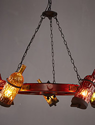 Restaurant Bar Color Restoring Ancient Ways Bottle Droplight