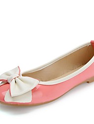 Women's Shoes  Summer / Round Toe Flats Wedding / Party & Evening Flat HeelShoes Bowknot /Yellow / Pink / White