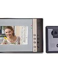 7 Hands-free 800*3(RGB)*480 One to One video doorphone
