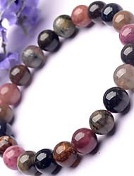 Round Crystal 20cm Strand Bracelets