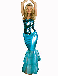 Mermaid Tail Costume Silk Sexy Bra Backless Adult Ariel Costume Adult Princess Costume for Girl