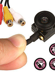 Cctv камеры безопасности ccd hd 1.8mm 120 градусов 800 tvl мини микрофон микрофон камеры наблюдения