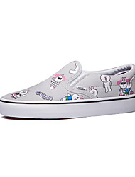 Vans x Line Friends Classics Slip-On Women's Shoes Canvas Outdoor / Athletic / Casual Sneakers Flat Heel