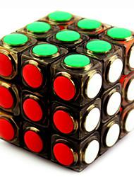 Yongjun® Smooth Speed Cube 3*3*3 Speed Magic Cube Black / White Plastic