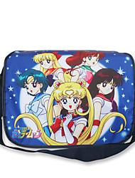 Tasche Inspiriert von Sailor Moon Cosplay Anime Cosplay Accessoires Tasche / Rucksack Schwarz Nylon Mann / Frau