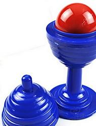 magia Prop Toy jogo / / Circular Plástico Azul / Amarelo Para Crianças