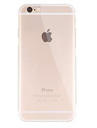 Para iPhone X iPhone 8 iPhone 8 Plus iPhone 6 iPhone 6 Plus Carcasa Funda Ultrafina Transparente Cubierta Trasera Funda Color sólido Suave