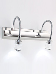 6W LED Bathroom Lighting,Modern/Contemporary LED Integrated Metal