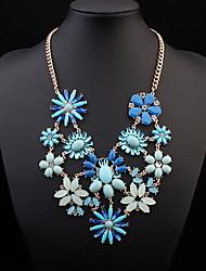 High-Grade Fine Sunflowers Necklace Elegant Woman