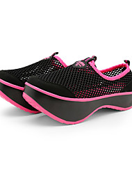 Net Face Ventilation Shoes Make Body Center of Gravity Shift Replace Backward Walking