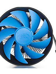 1155 1150 AMD CPU Cooling Fan for Desktop 12.4*12.1*6.55