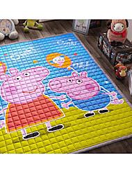 desenhos animados de armazenamento de escalada de algodão pad quarto derrapante bebê crianças