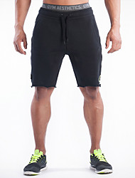 Men's Running Shorts Bottoms Breathable Sweat-Wicking Comfortable Exercise & Fitness Racing Leisure Sports Running Cotton Loose