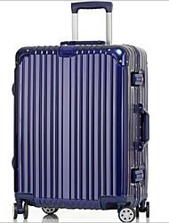 Unisexe PVC Extérieur Bagages Blanc / Rose / Violet / Bleu / Noir