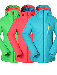 Gsou snow new pink blue green ski jackets/ women ladies skiing / snowboarding jackets women breathable