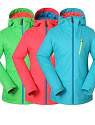 Gsou Schnee neu pink, blau, grün Skijacken / Frauendame Ski / Snowboard Jacken Frauen atmungsaktiv