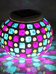 1pc LED Solar Originalität Einrichtungs Licht betriebene Nachtlicht
