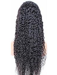"""2015 vente chaude en stock assez afro boucle frisée sans colle plafond de 10 """"-32"""" perruque brésilien de cheveux humains"""
