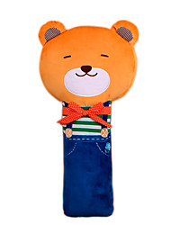 Children's Safety Belt Holder Baby Sleeping Seat Belt Shoulder Sleeve Lovely Cartoon Antile neck Belt Bear