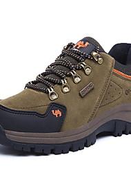 Wandern Herren Schuhe Wildleder Blau / Braun / Grün / Orange
