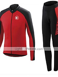 KEIYUEM®Others Spring/Summer/Autumn Long Sleeve Cycling Jersey+long Tights Ropa Ciclismo Cycling Clothing Suits #L33