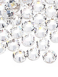 Transparent White Diamond China World Trade Center A flat Drill DIY Paste Drilling Accessories Bride Manicure Drill