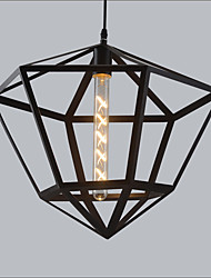 Max 60W Vintage Style Pendant Lights Living Room / Bedroom / Dining Room / Kitchen / Study Room