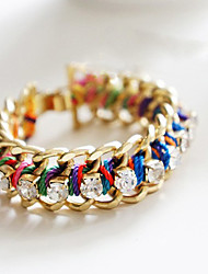 Chain Bracelets 1pc,Golden Bracelet Fashionable Circle 514 Alloy Jewellery