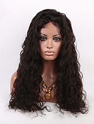 evawigs 150% de alta densidade 24inch ondulação natural brasileiro do cabelo humano peruca cheia do laço peruca cheia do laço peruca