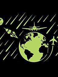 Paysage Stickers muraux Stickers avion / Stickers muraux lumineux Stickers muraux décoratifs / Stickers de Mesure,PVC Matériel