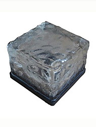 Solar Ice Blocks Buried Lights LED Lights/Glass Floor Tile Lamp/Outdoor Solar Lights A Night Light