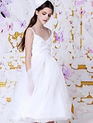 Pour My Fair Lady® Femme Col en V Sans Manches Au dessus des genoux Robes-16253