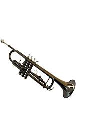 la trompette en laiton de niveau professionnel embout buccal ne cou