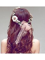 Women's Resin / Plastic Headpiece-Wedding Headbands 1 Piece Champagne