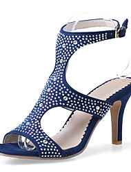 Women's Shoes Stiletto Heel Peep Toe / Gladiator / Round Toe / Open Toe Sandals Party & Evening / Dress