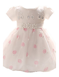 Baby Girl's Blue / Pink Dress, Bow Polyester All Seasons