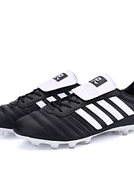 Men's / Women's Shoes Synthetic Athletic Soccer Shoes Lacing Football Shoes Black / Blue / Green